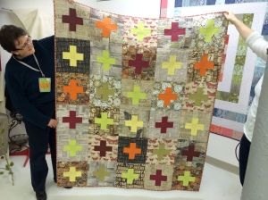 Another amazing quilt made by Patti.