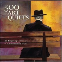 500 art quilts book cover