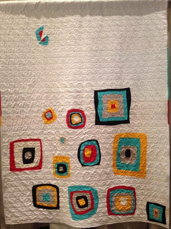 Finished QuiltCon Charity Quilt 2016