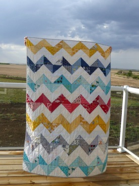 55-Brenners zigzag quilt front