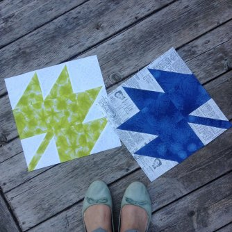 38-Maple Leaf Blocks