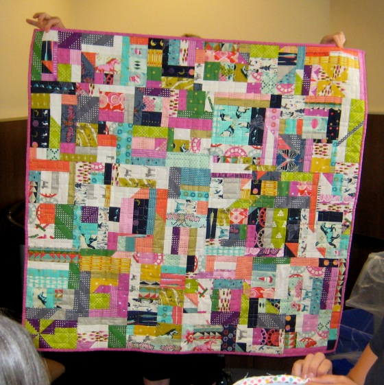 07-Edith Cotton and Steel scrap quilt