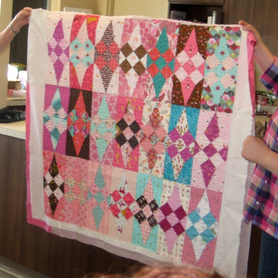 20-Show tell lisa baby quilt