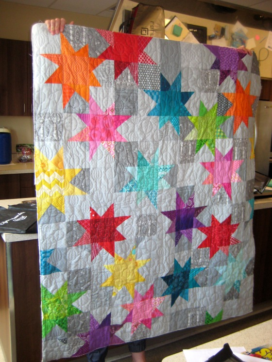 23-Show Tell new member AMy's first quilt