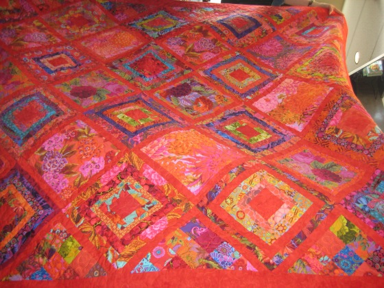 Vals bright scraps quilt