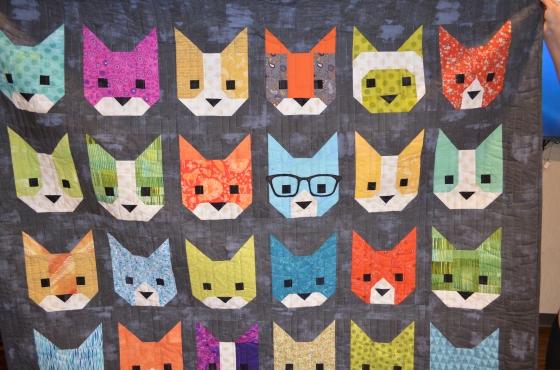 Edith cat quilt