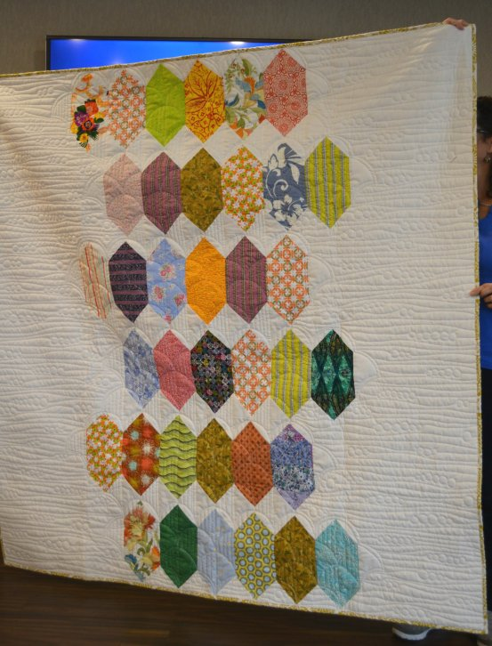 Ugly block quilt