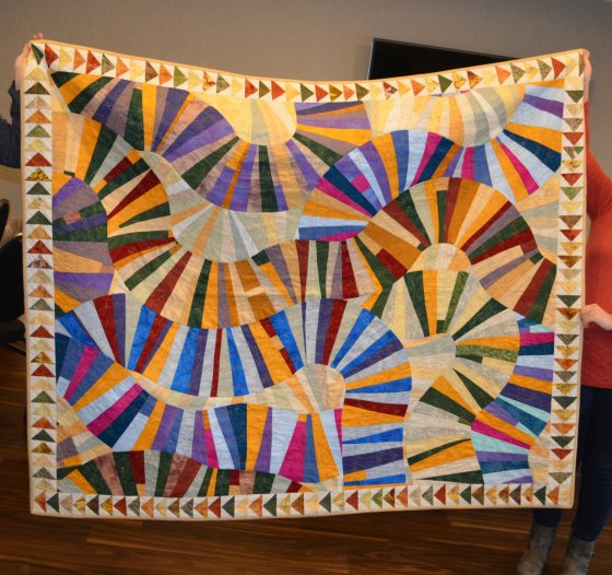 bev fathers story quilt