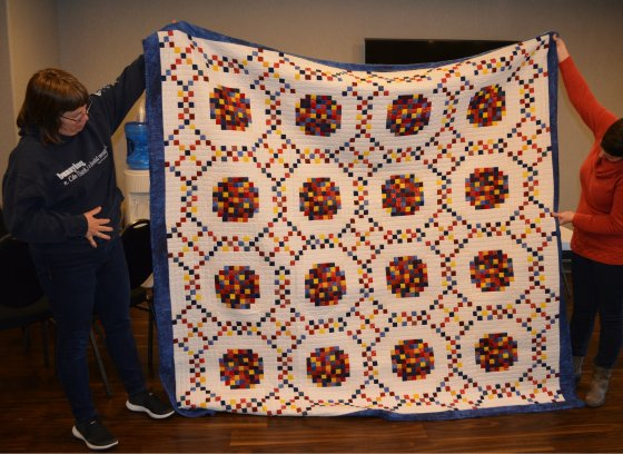 donna scrap quilt