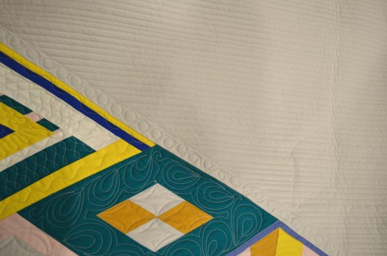 quiltcon 2017 charity quilt detail